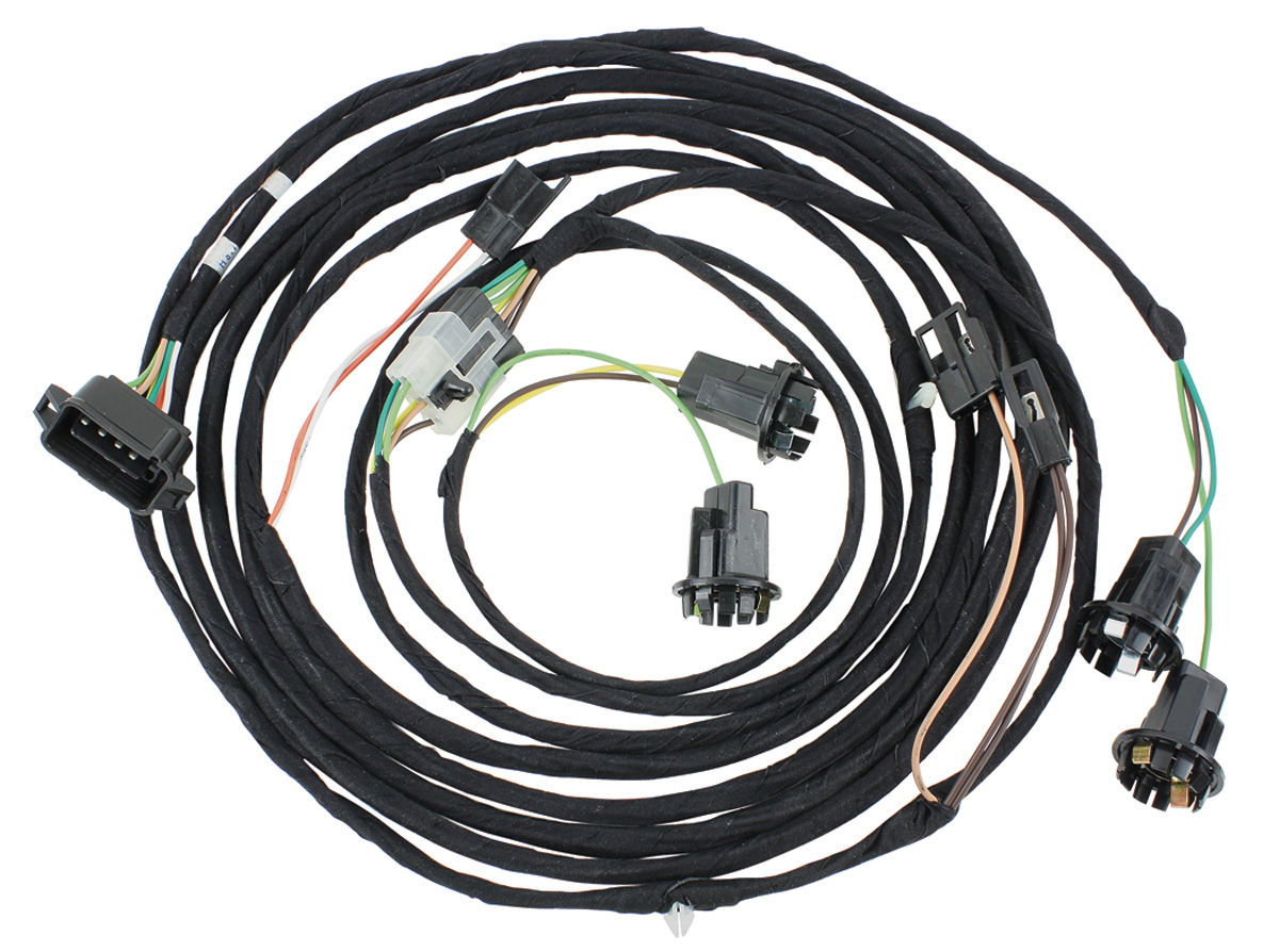 Wiring Harness Rear Light Chevelle Deluxe 2dr Tail