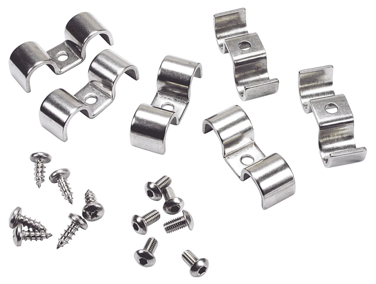 Line Clamps Kugel 1 4 X 1 4 Double Stainless Steel 6