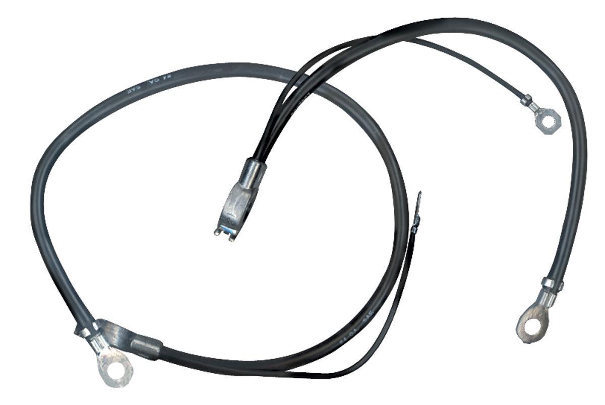 Battery Cable 65 Pontiac A Body 6 Cylinder Negative