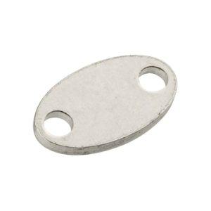 oval hallmark tag rear