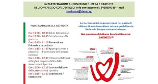 Il 13 Giugno a Sora la giornata di sensibilizzazione dedicata all'Arresto Cardiaco