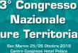 3° Congresso Nazionale Cure Territoriali. Evento accreditato ECM