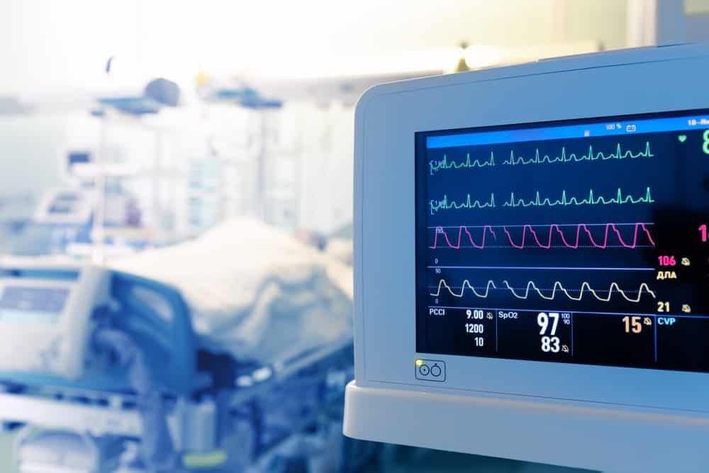 Medical screen in the ICU