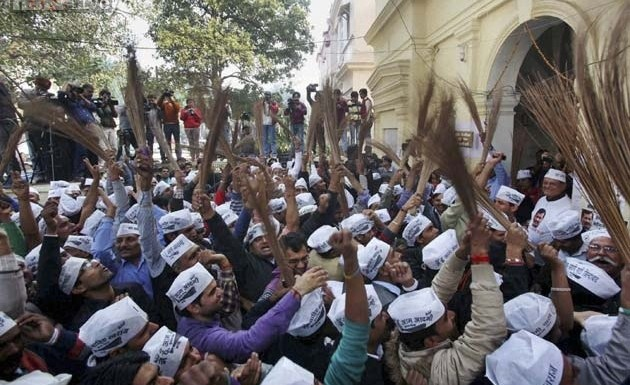 AAP supporters