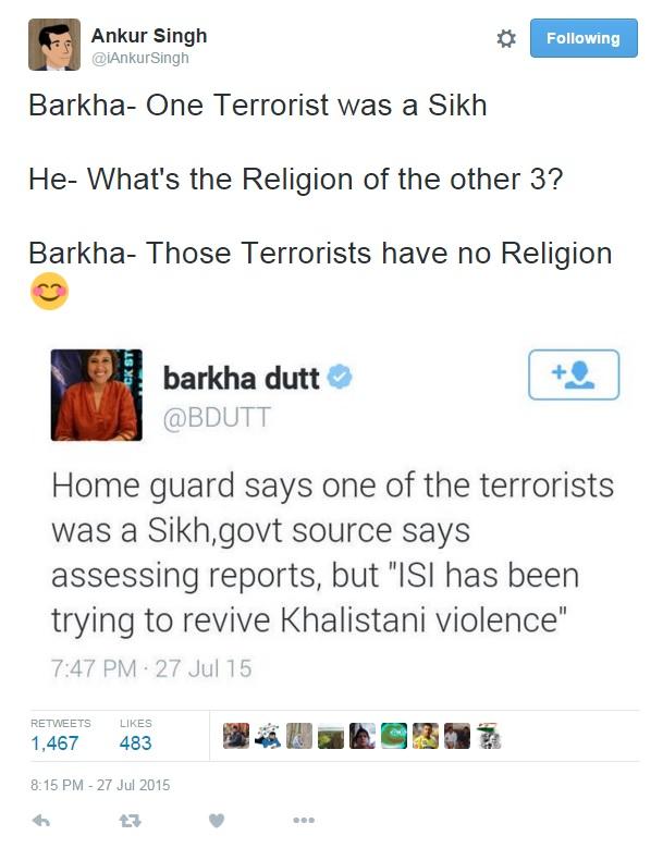 barkha trolled