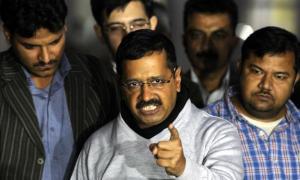 Angry Kejriwal