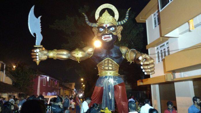 Narkasur in Goa