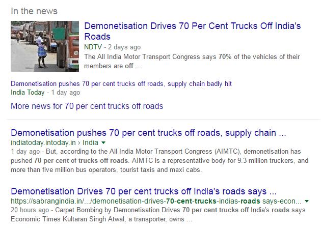 70% trucks