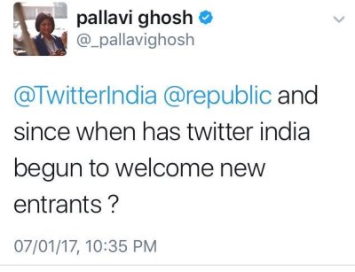 Pallavi Ghosh being silly as ever