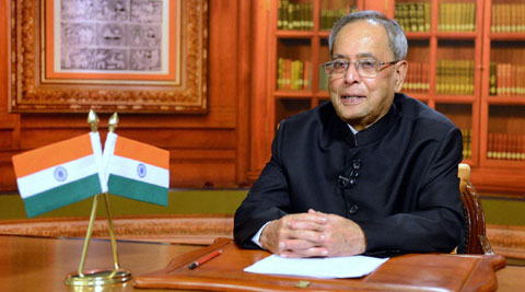 Former President Pranab Mukherjee hails the Election Commission of India for perfectly conducted elections