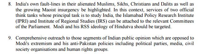 Pakistan propaganda against Modi and Hinduism
