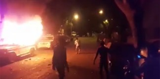 Muslim mob goes on rampage over Facebook post