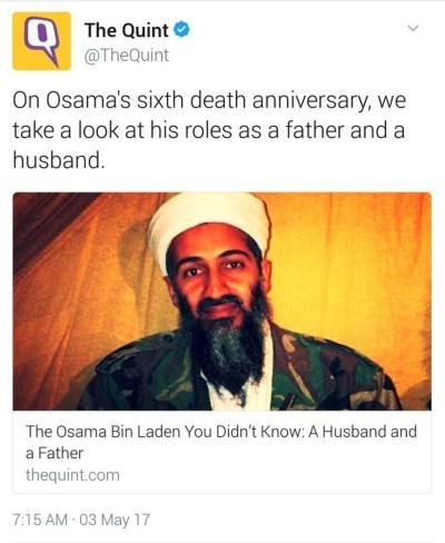 Quint on Osama