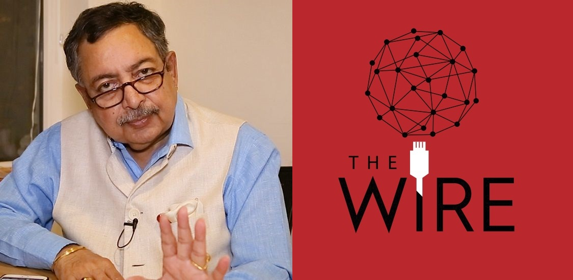 The Wire allowing arrogant Vinod Dua to pontificate about #MeToo is proof of their pussyfooting