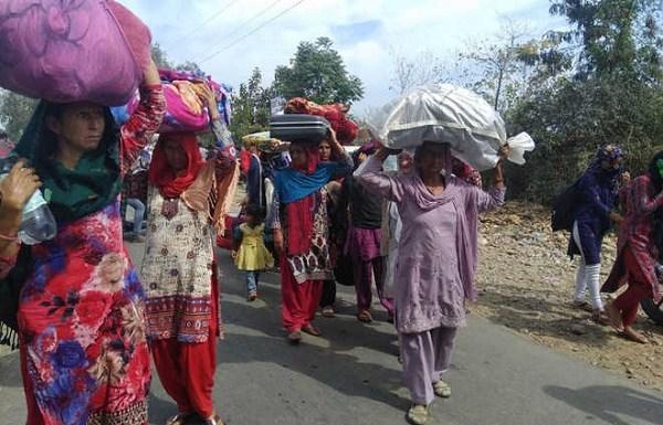 Hindus flee Jammu village alleging torture and harassment of their children by J&K police