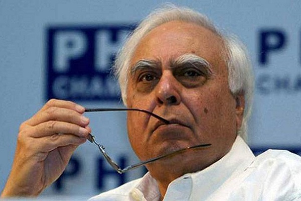 BJP asks Kapil Sibal to clarify about his dealings with businessman accused of money-laundering