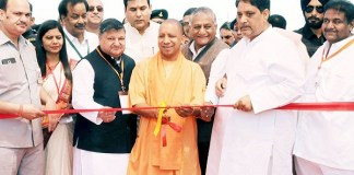 Yogi Adityanath inaugurates India's longest six-lane elevated road in UP's Ghaziabad
