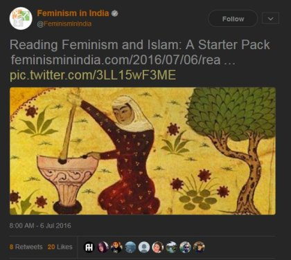 Islamist propaganda or Feminism?