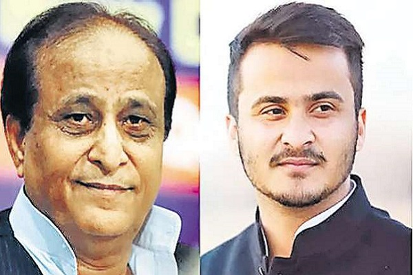 UP police files case of forgery against SP leader Azam Khan and his son