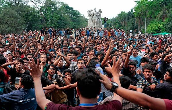 Bangladesh scraps reservation in government jobs following massive student protests