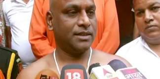 Dalit sanyasi Kanhaiya Kashyap became Shivanand Giri