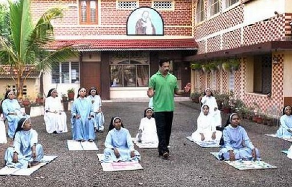 Kerala Church home to a controversial archbishop, accused of demeaning yoga