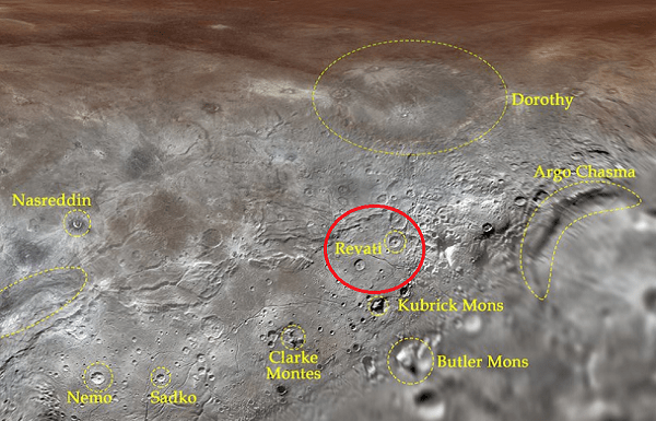 Crater on Pluto's largest moon named after Mahabharata character 'Revati' by International Astronomical Union