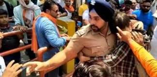 bbc circulates fake news about Sikh cop recieving death threats