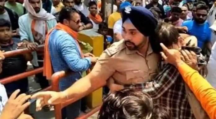 bbc circulates fake news about Sikh cop recieving death threats