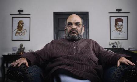 Amit Shah slammed congress of playing negative politics