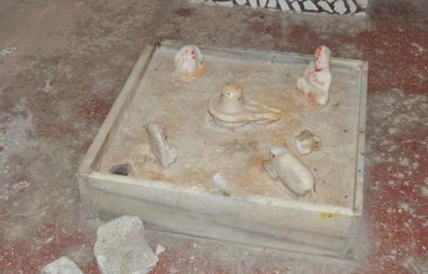 Muslim youth held for vandalising Hindu idols to stoke communal tension