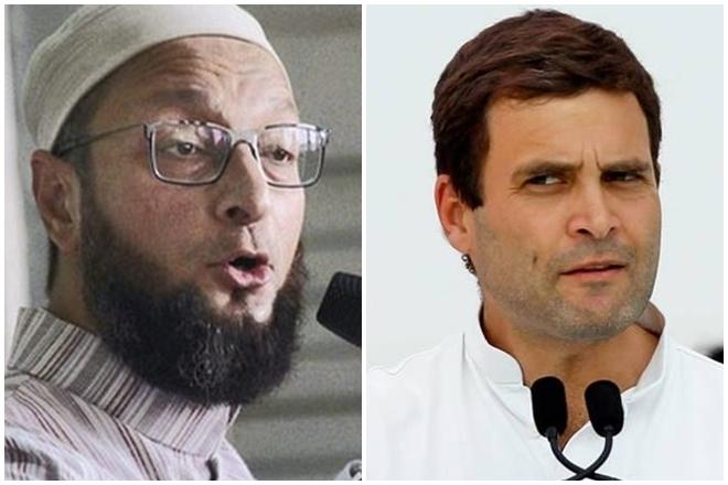 Owaisi attacks Rahul Gandhi for dining with 'RSS sympathizer' Pranab Mukherjee