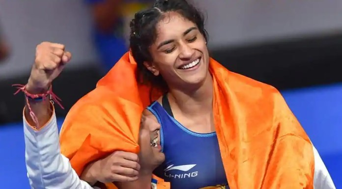 Vinesh Phogat wins Gold at Asian Games 2018 in Jakarta