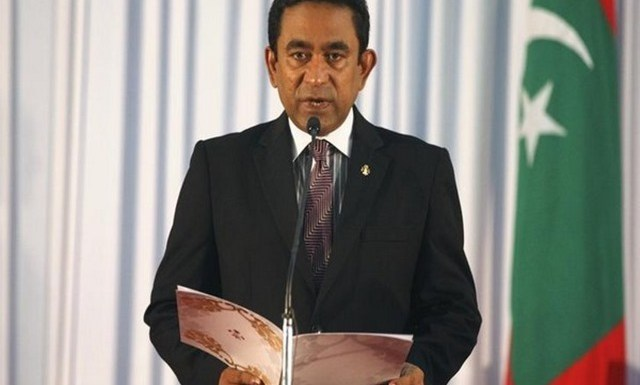 President of Maldives Abdullah Yameen