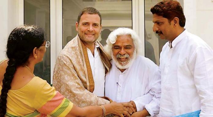 Rahul Gandhi meets Naxal sympathizers