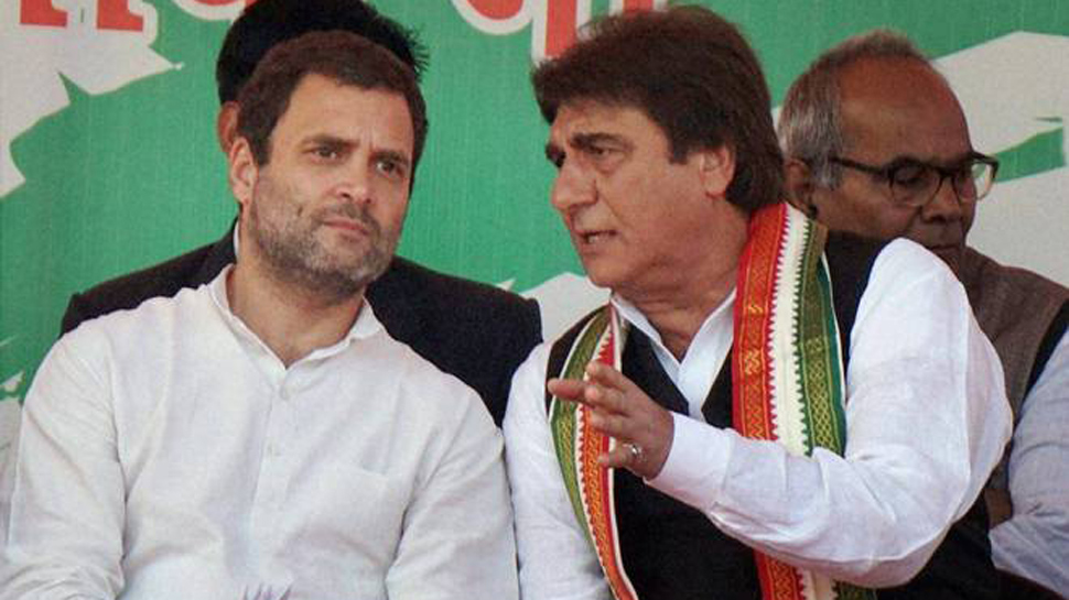 Raj Babbar's cheap sexual innuendo, says that Mamta Banerjee has figured out the size of Modi's kurta