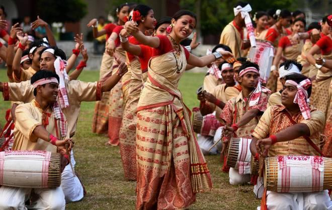 Gamosa is integral part of Bihu in Assam