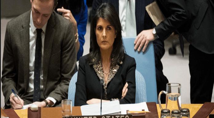 Nikki Haley, US envoy to UN