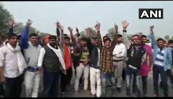 Watch: Congress workers gherao Sachin Pilot's car, protest