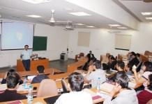 A classroom in IIM-Calcutta