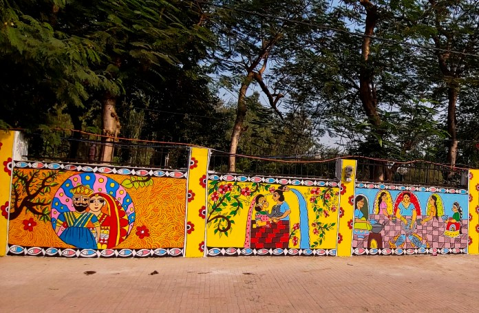 Patna roads paintings
