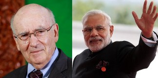 Philip Kotler and Narendra Modi