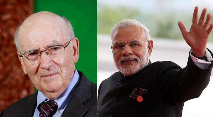 Philip Kotler and Narendra Modi