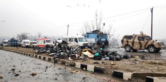 Locals even pelted stones at injured jawans