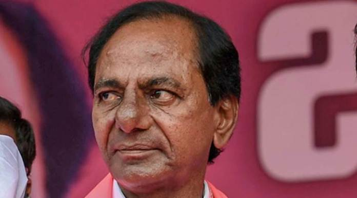 TRS chief and Telangana CM K Chandrasekhara Rao