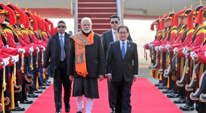 Prime Minister Modi in South Korea