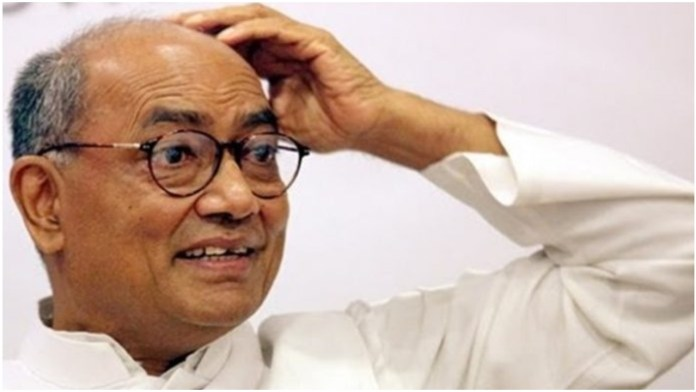 Case lodged against Congress leader Digvijaya Singh