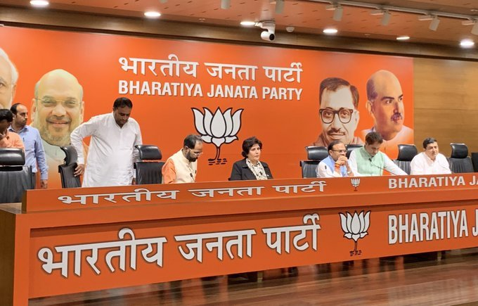Paralympics silver medalist Deepa Malik has joined BJP today