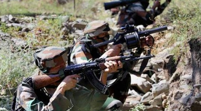 Indian Army hits back at Pakistan in retaliatory fire, destroys a post across Rajouri sector