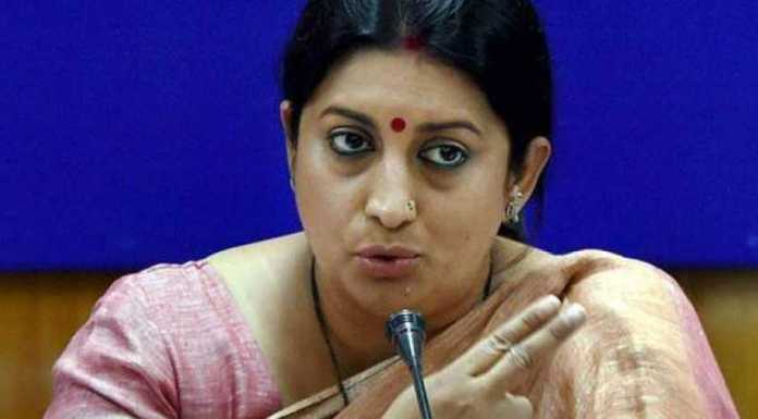 'Rahul Gandhi is running away from Amethi, not me': Smriti Irani on rumours BJP might field her from Wayanad